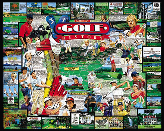 American Golf Puzzle
